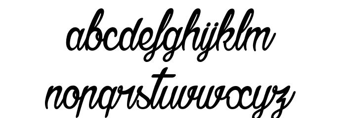 Agatha Needs Flesh Шрифта строчной