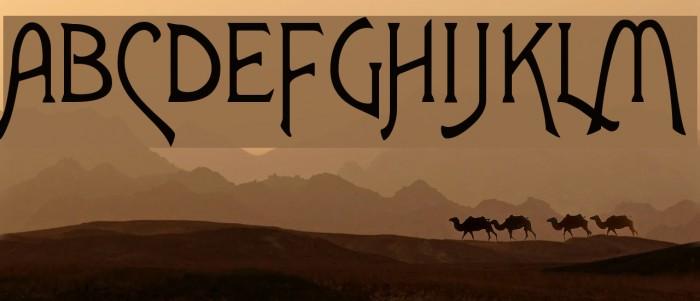 Agatha Font examples