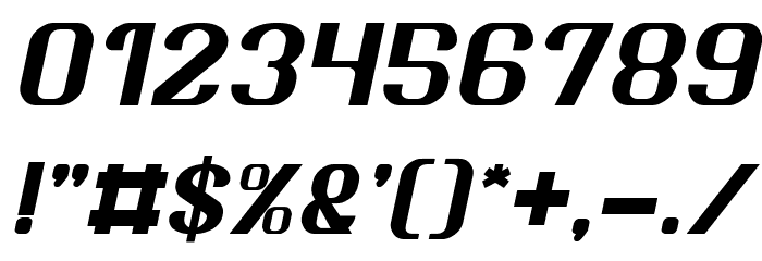 Age of Awakening Italic Font OTHER CHARS