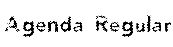Agenda Regular  नि: शुल्क फ़ॉन्ट्स डाउनलोड