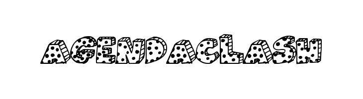 AgendaClash  Free Fonts Download