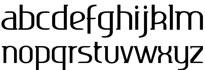 Ageone serif 字体 小写