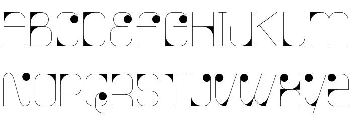 Agnes serif Font UPPERCASE