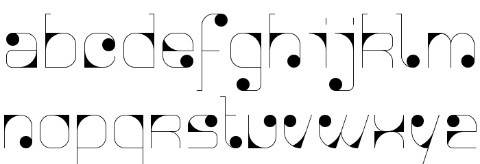 Agnes serif Font LOWERCASE