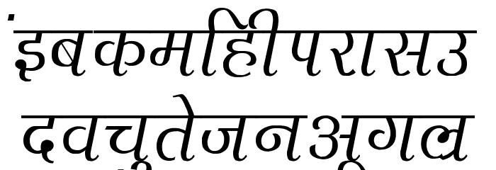 Agra Thin फ़ॉन्ट लोअरकेस