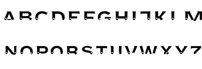 AgreloyInT3 Font UPPERCASE