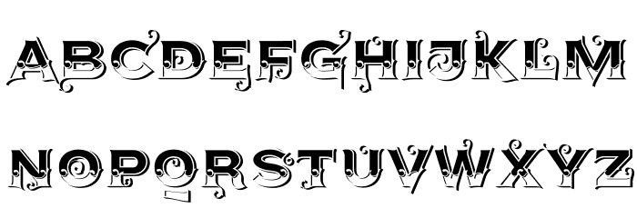 AgreloyS1 Font UPPERCASE