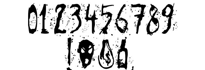 Agresivefont Font OTHER CHARS