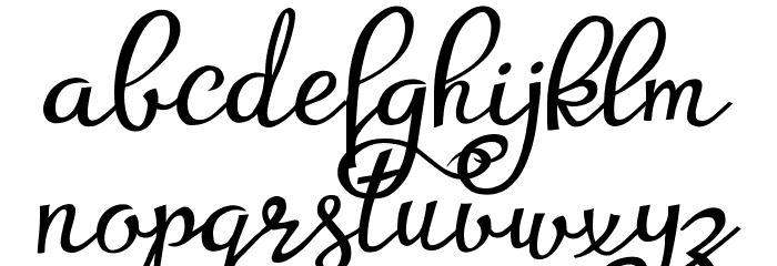 Agrish Demo फ़ॉन्ट लोअरकेस