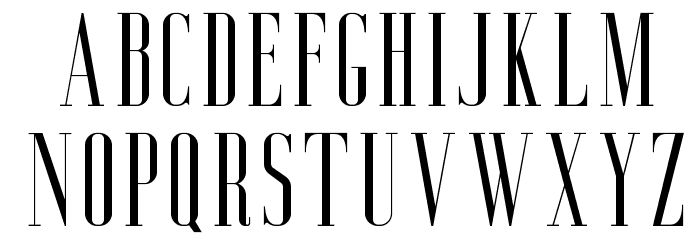 AgueroSerifFree-Regular Font UPPERCASE