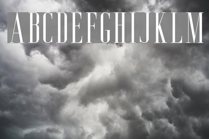 AgueroSerifFree-Regular Font examples