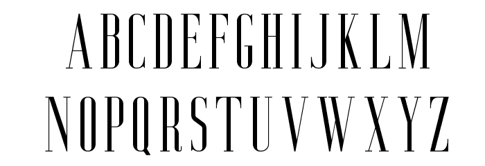 AgueroSerifFree-Regular Font LOWERCASE