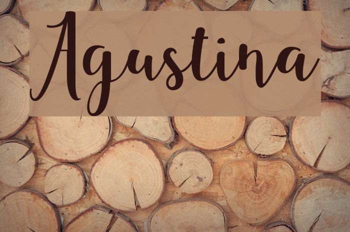 Agustina Fuentes examples