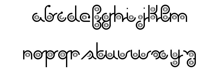 again Font Litere mici