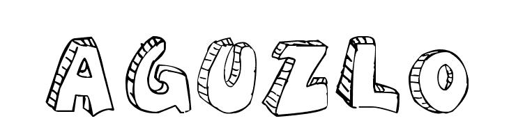 aguzlo  नि: शुल्क फ़ॉन्ट्स डाउनलोड