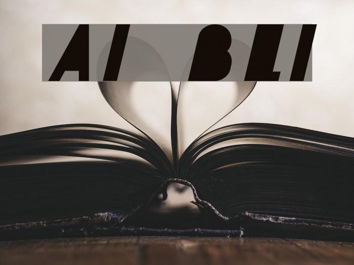 AI kelso BLI फ़ॉन्ट examples