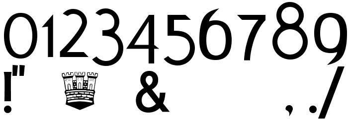 AIK-ErikHolm Шрифта ДРУГИЕ символов