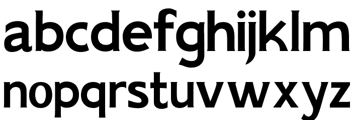 AIK-ErikHolm Шрифта строчной