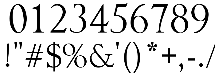 AISSUR Font OTHER CHARS