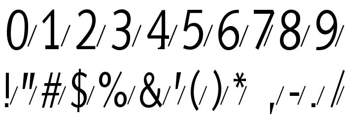 AidaSerifaShadow Шрифта ДРУГИЕ символов