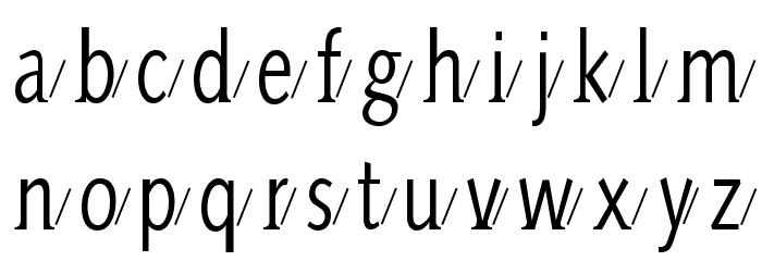 AidaSerifaShadow Шрифта строчной
