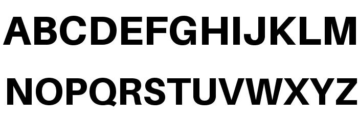 Aileron Heavy Font UPPERCASE