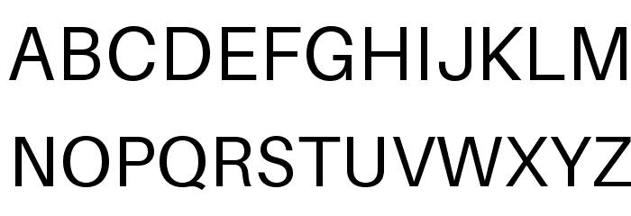 Aileron Font UPPERCASE