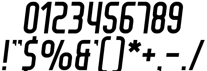Air Americana Font OTHER CHARS