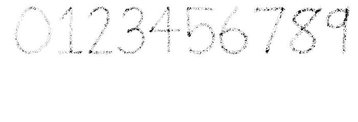 Airbrush Шрифта ДРУГИЕ символов
