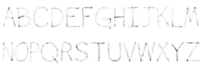 Airbrush Шрифта строчной