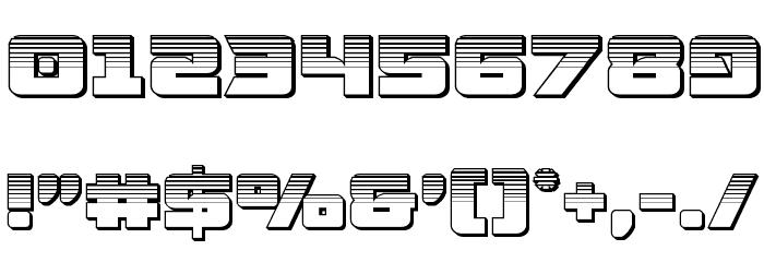 Aircruiser Platinum Font OTHER CHARS