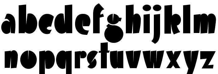 Airmole Font Litere mici