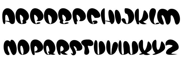air show Font UPPERCASE