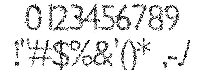 Aka-AcidGR-ScrachThis Шрифта ДРУГИЕ символов