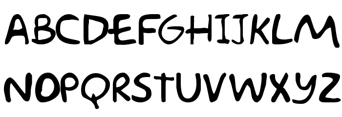 Akbar  Plain Font UPPERCASE