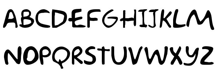 Akbar  Plain Font LOWERCASE