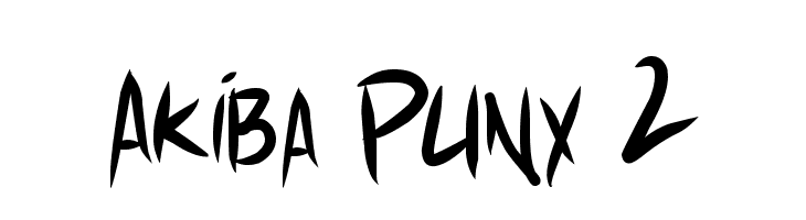 Akiba Punx 2  Free Fonts Download