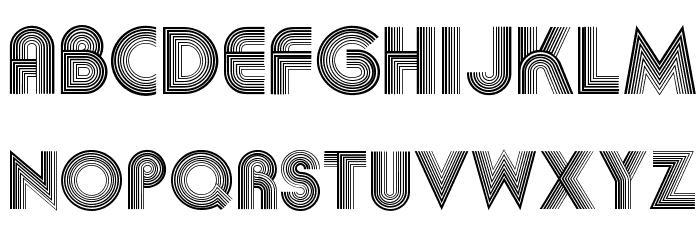 Akka Font LOWERCASE