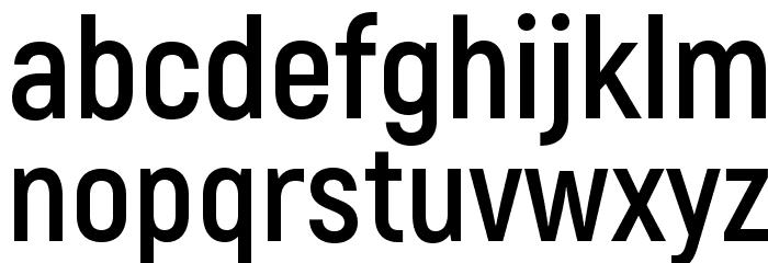Akrobat Bold Font LOWERCASE