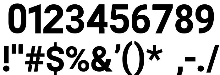 ALISEO Шрифта ДРУГИЕ символов
