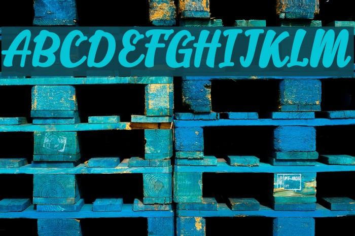 Alakita-Regular Font examples