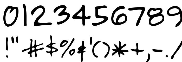 Alamendro FG Шрифта ДРУГИЕ символов