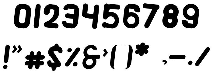 Alaqua Italic Шрифта ДРУГИЕ символов
