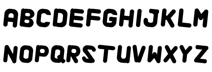 Alaqua Italic फ़ॉन्ट अपरकेस