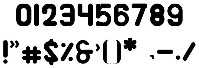 Alaqua Шрифта ДРУГИЕ символов