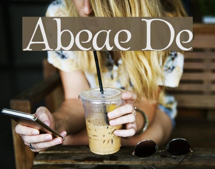 Albemarle Demo Font examples
