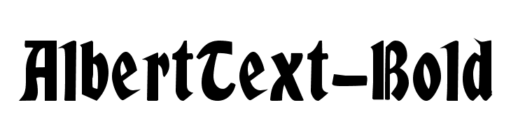 AlbertText-Bold  Скачать бесплатные шрифты