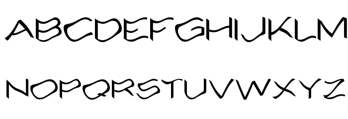Alcohole Font UPPERCASE