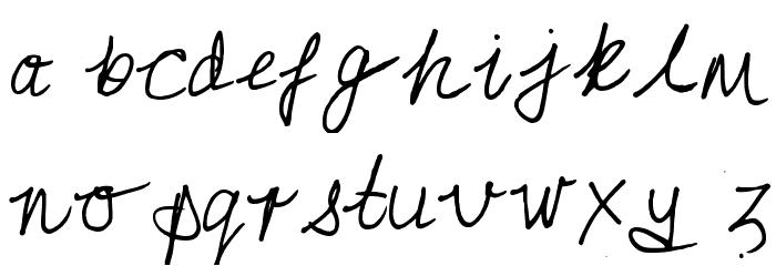 Aldertonsage Regular Font LOWERCASE