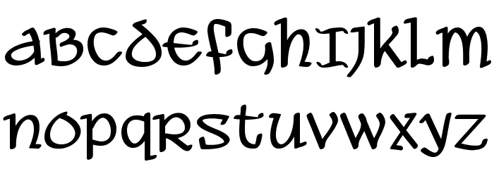 Ale and Wenches BB Font UPPERCASE